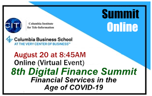 8th Digital Finance Summit at Columbia